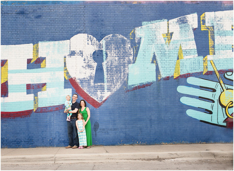 Home Mural   Logan Square L Stop   Rebecca Hellyer Photography
