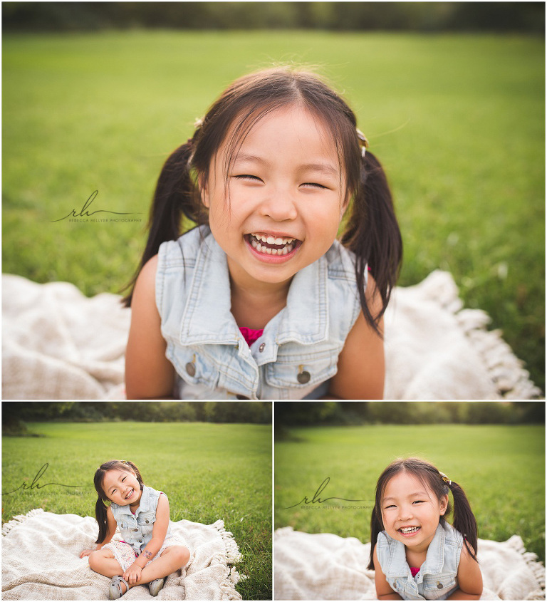 smiling girl | Chicago suburbs forest preserve photographer