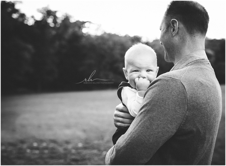 Baby with dad | Chicago photographer
