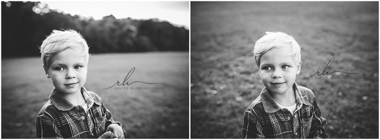 Black and white portraits | River Forest Family Photographer