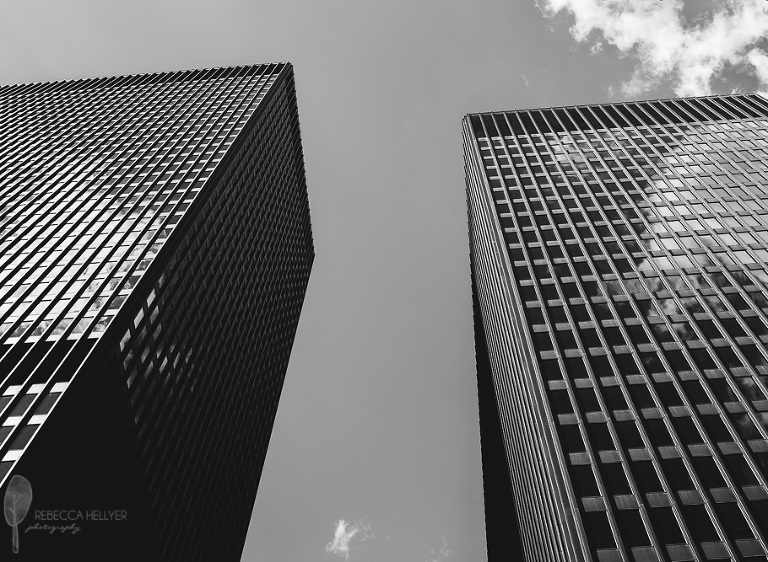 Skyscrapers Jackson Van Buren | Chicago Fine Art Photographer