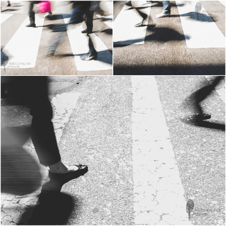 pedestrians crossing street | Chicago Fine Art Photographer