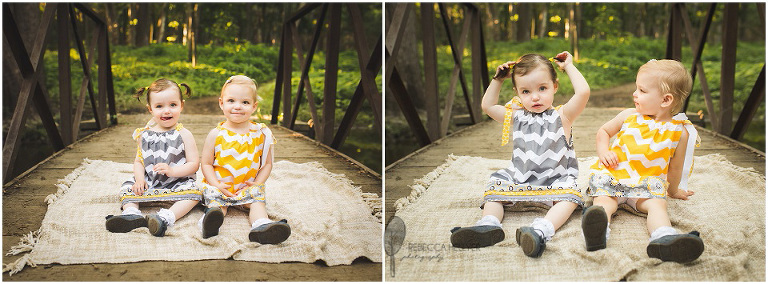 Homer Glen Photographer | Chicago Child Photographer | Twins| Rebecca Hellyer Photography