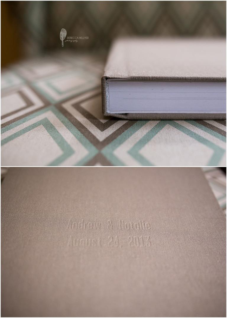 Chicago Wedding Photographer | Heirloom album cover