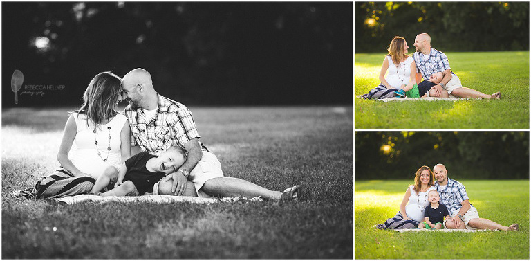 Chicago Family Photographer | La Bagh Woods | Rebecca Hellyer Photography