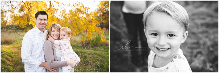 Fall family photographs | Chicago Family Photographer | Rebecca Hellyer Photography