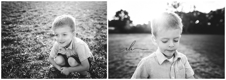 Black and white child photography | Chicago photographer | Rebecca Hellyer Photography