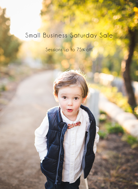 Chicago Photographer | Sale | Small Business Saturday