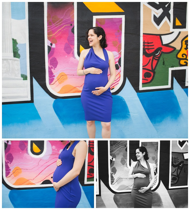 Gorgeous maternity photos | Rent The Runway | Chicago Maternity Photographer | Rebecca Hellyer Photography