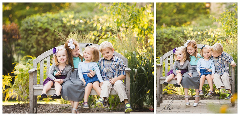 Sibling photographs | River Forest Photographer | Rebecca Hellyer Photography