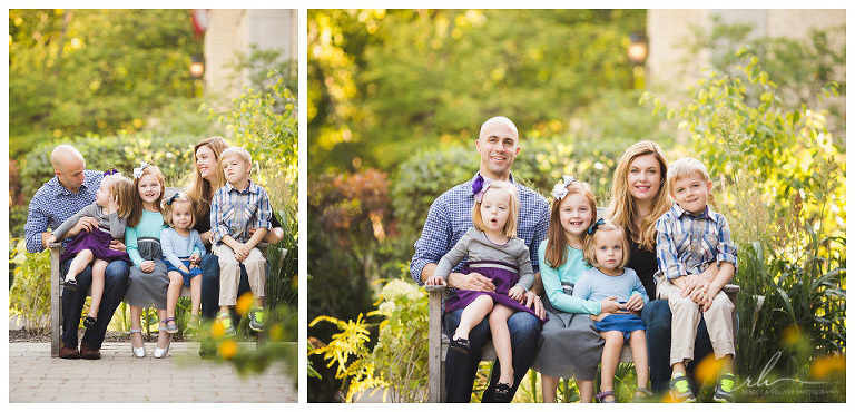 Fun family photos | River Forest photographer | Rebecca Hellyer Photography