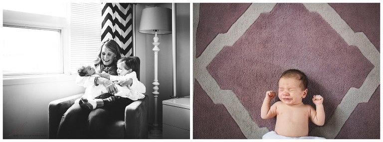 Newborn Photographer | Bucktown Chicago Photographer | © Rebecca Hellyer Photography